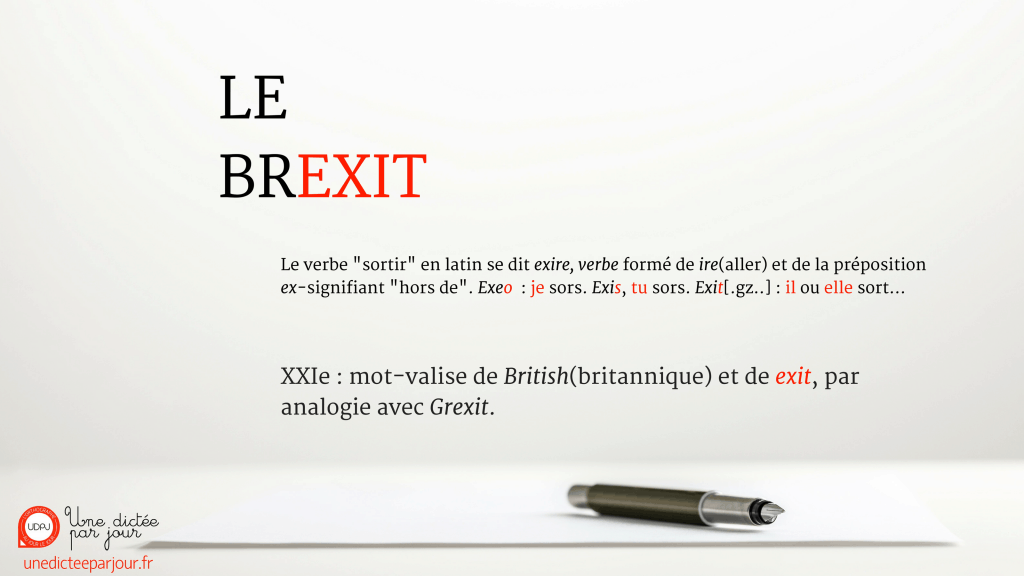 Fond visuel UDPJ twitter Brexit